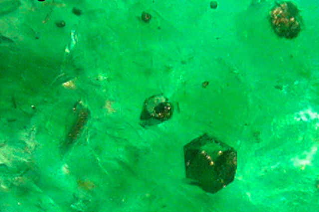 Colored Inclusions Gemological International Laboratories